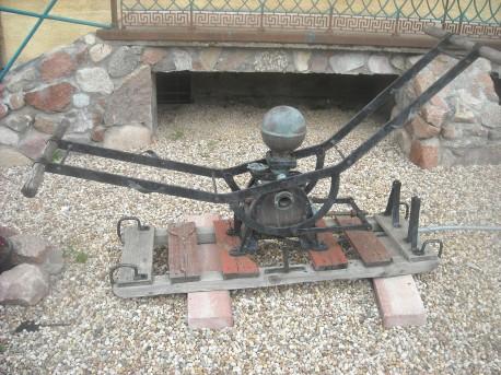 Stara pompa strażacka (fot. Przemysław Jankowski)