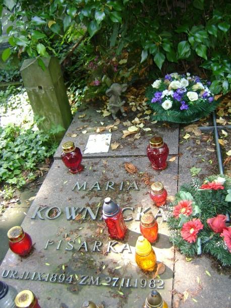 Grób Marii Kownackiej (fot. Marcin Matusiak)