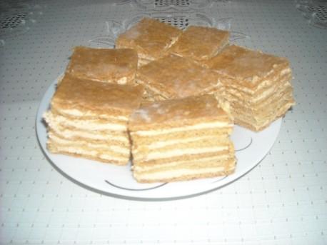 Gotowe ciasto Marlenka (fot. PJ)
