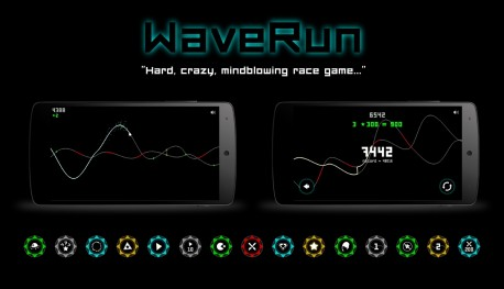 "Screen z gry ""WaveRun"""