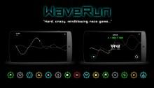 """""""WaveRun"""" – zręcznościowa gra na Androida - WaveRun;gra;zręcznościowa;refleks;Android;SoftKiwi;twórcy;młodzi;studio;"""