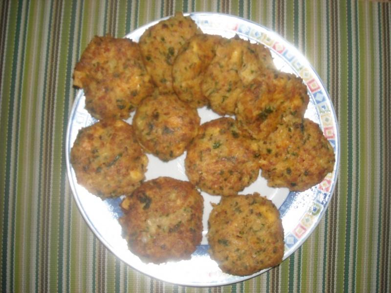 Placuszki z makaronu (fot. pj)