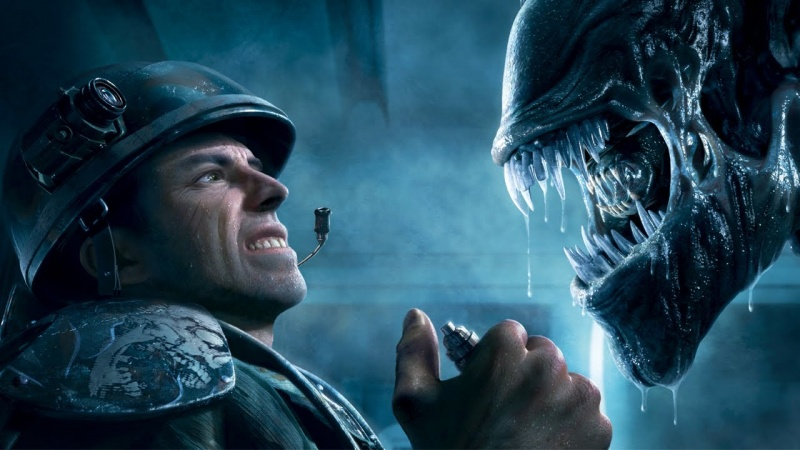 "Screen z gry ""Aliens: Colonial Marines"" (źródło: youtube.com)"