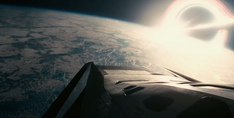 "Kadr z filmu ""Interstellar"" (źródło: youtube.com)"