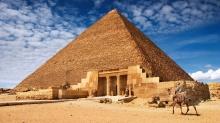 Wielka piramida nie została wzniesiona przez Chufu - piramida Cheopsa;Chufu;wielka;Egipt;tajemnica;komora Campbella;Herodot;Howard Vyse;