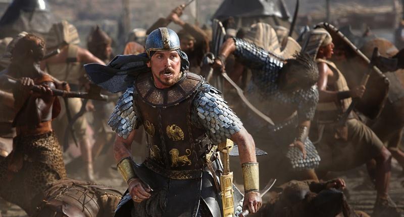 """Kadr z filmu """"Exodus: Bogowie i królowie"""" (źródło: youtube.com)"""