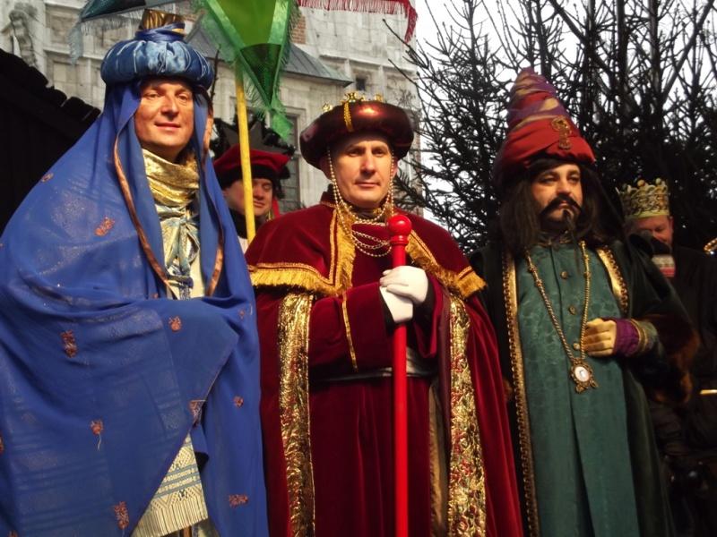 Orszak Trzech Króli 2013 w Krakowie (fot. P. Drabik, źródło: wikimedia.org)
