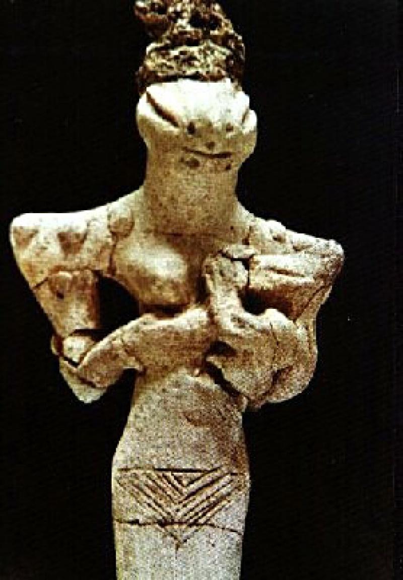 Figurki istot pozaziemskich znajdowane na terenie Bliskiego Wschodu