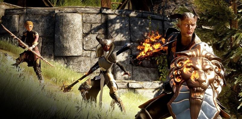 """Screen z gry """"Dragon Age: Inkwizycja"""" (źródło: youtube.com)"""