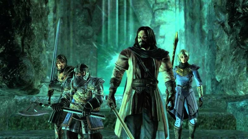 """Screen z gry """"Władca pierścieni: Wojna na Północy"""" (źródło: youtube.com)"""