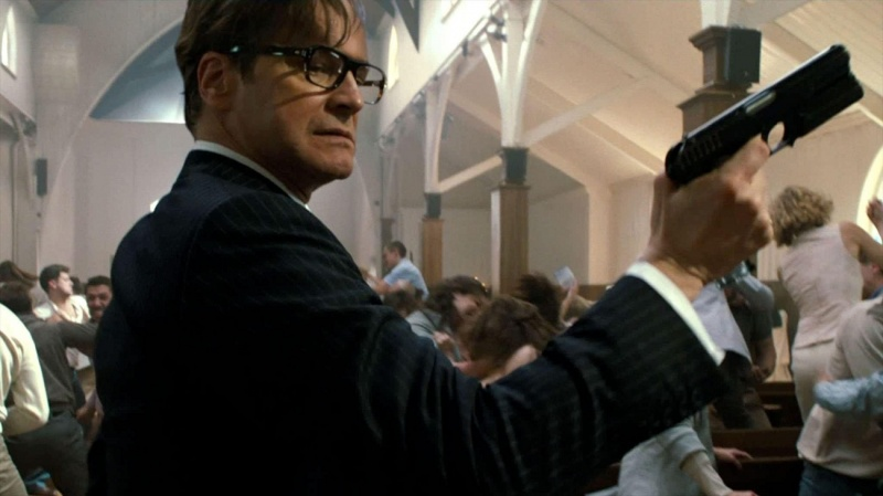 """Kadr z filmu """"Kingsman: Tajne służby"""" (źródło: youtube.com)"""