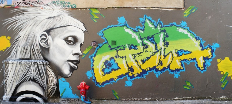 Graffiti z Yo-Landi (źródło: flickr.com) https//www.flickr.com/photos/thx_1139_gallery_flickr/