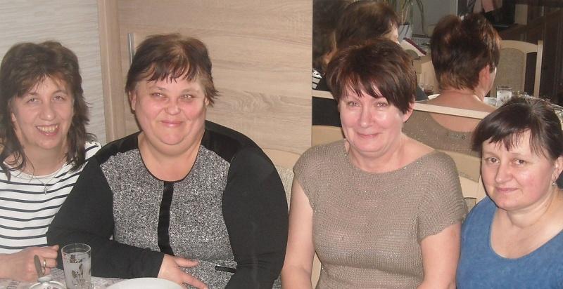 Od lewej Halina Filipska, Urszula Musiał, Zofia Jankowska oraz Ilona Zielińska (fot. PJ)