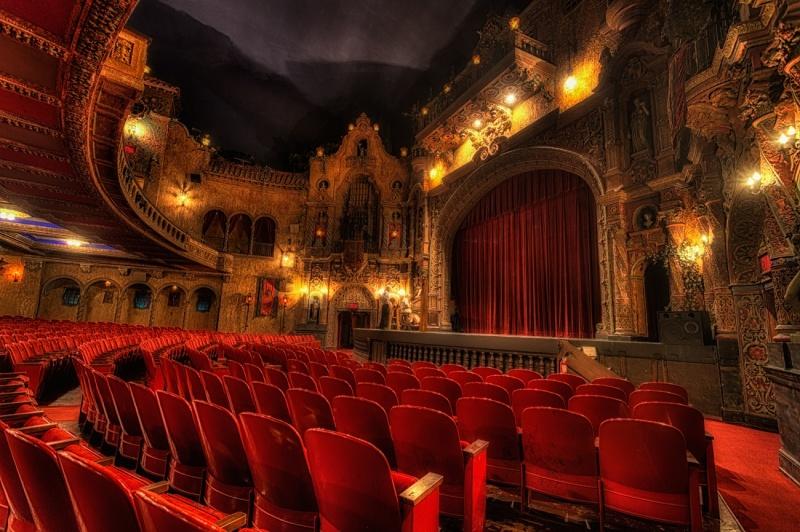 Teatr w Tampie na Florydzie (fot. Matthew Paulson) https://www.flickr.com/photos/matthewpaulson/