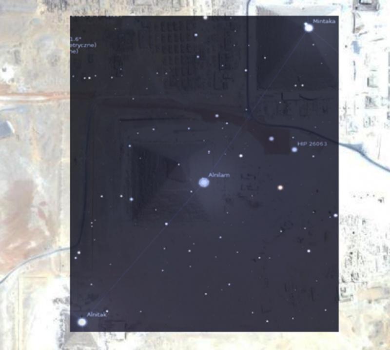 Kompleks piramid w Gizie korelował z układem gwiazd Oriona 11 500 lat p.n.e.