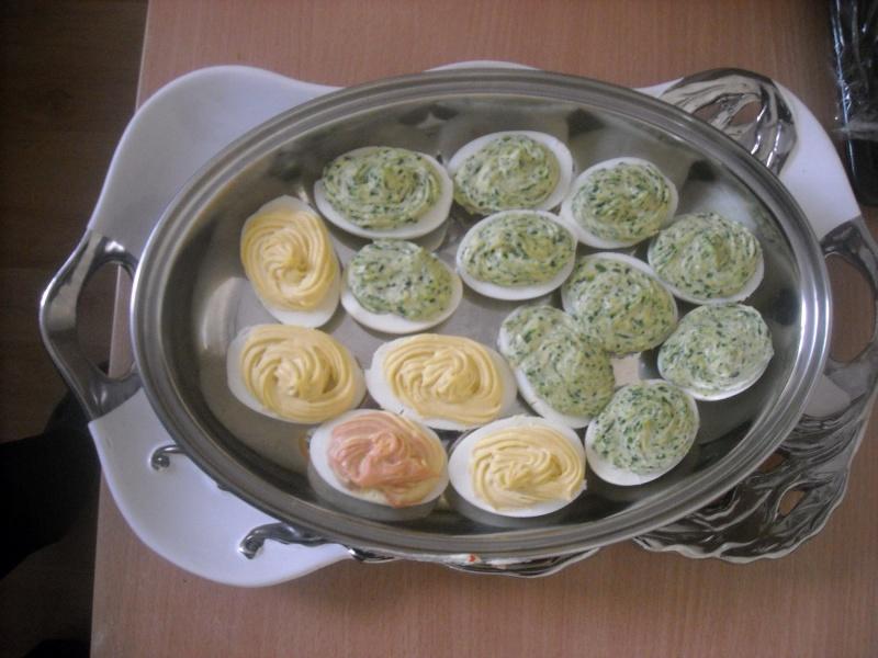 Jajka faszerowane Klubu Kobiet Kreatywnych (fot. ZJ)