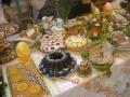 Kolorowe i smaczne dania na wielkanocnym stole – galeria  - Wielkanoc;Wystawa Stołów Wielkanocnych;potrawy;dania;wystawa;pokaza;mięsa;szynki;babki;Klub Kobiet Kreatywnych;tradycje;zwyczaje;święto;kulinarne;stół;smak;zapach;Lubanie