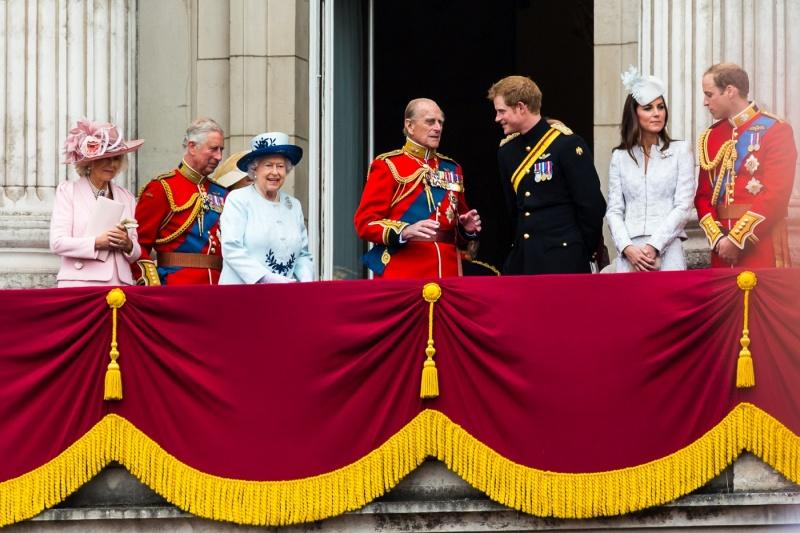 Brytyjska rodzina królewska  https://www.flickr.com/photos/mikepaws Michael Garnet