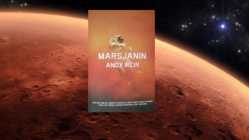 Okładka (źródło: zdjęcie autorskie), Mars (źródło: wikimedia.org)