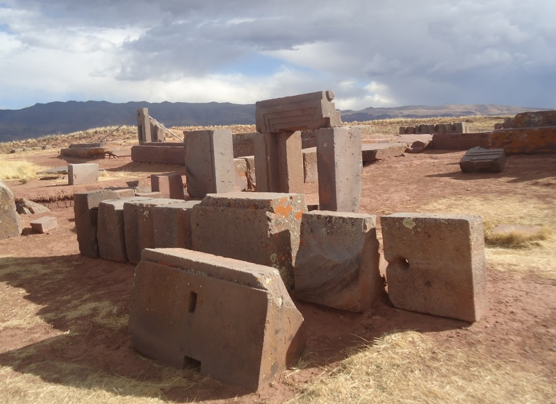 Ruiny Puma Punku w Boliwii