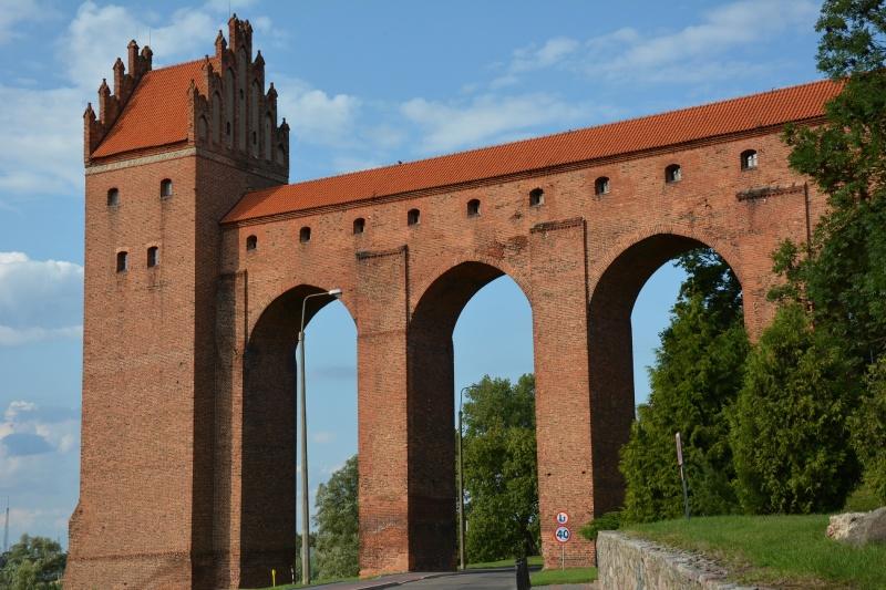 Zamek kapituły pomezańskiej - most/ganek i gdanisko (fot. PaM)