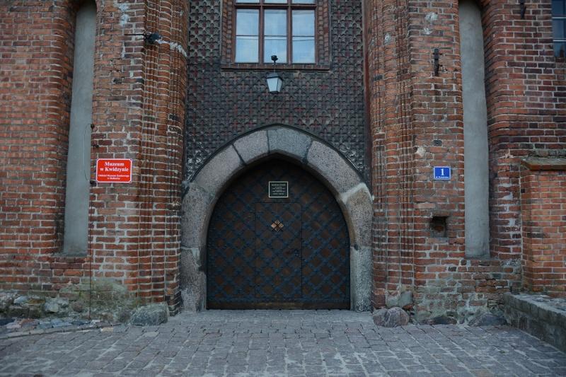 Zamek kapituły pomezańskiej - wrota (fot. PaM)