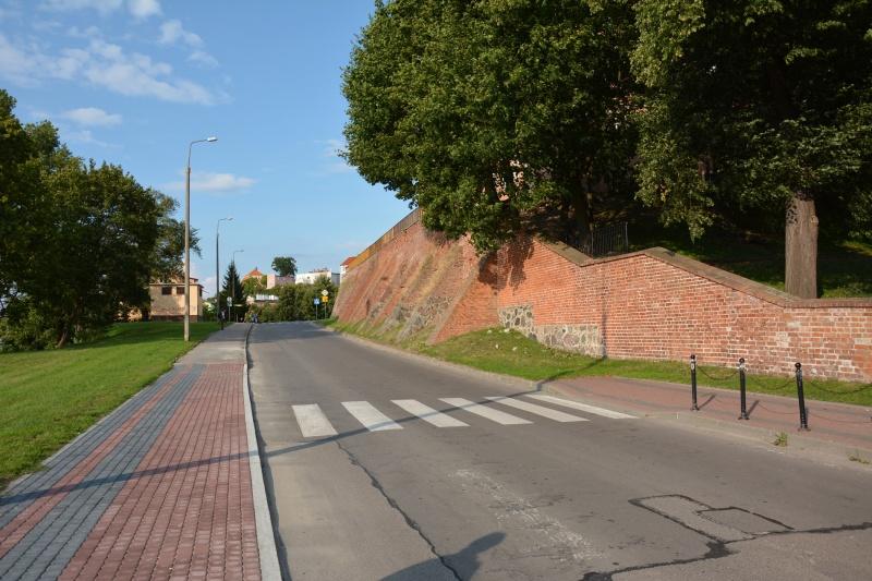 Zamek kapituły pomezańskiej - mury (fot. PaM)