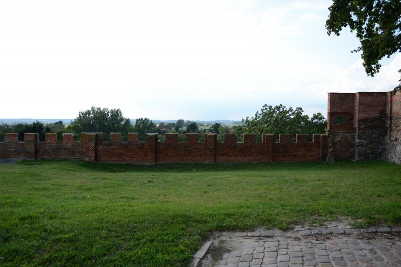 Zamek kapituły pomezańskiej - murek (fot. PaM)