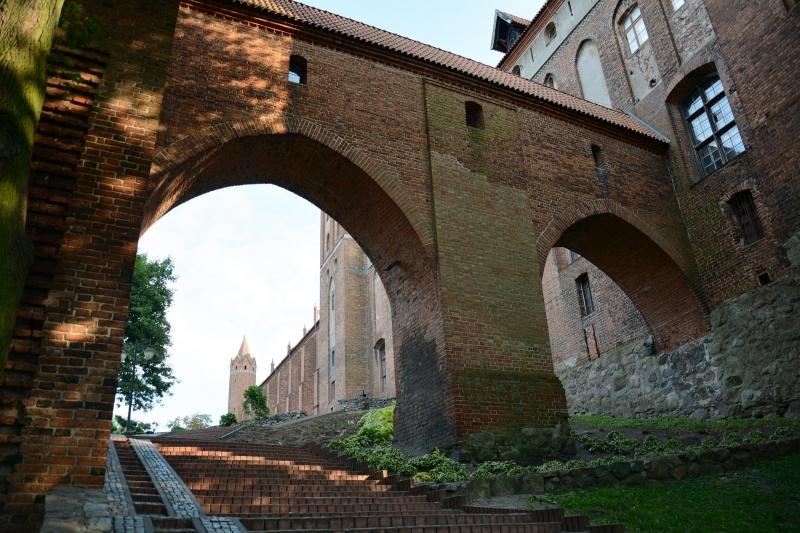 Zamek kapituły pomezańskiej - ganek (fot. PaM)