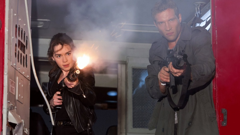 """Kadr z filmu """"Terminator: Genisys"""" (źródło: youtube.com)"""