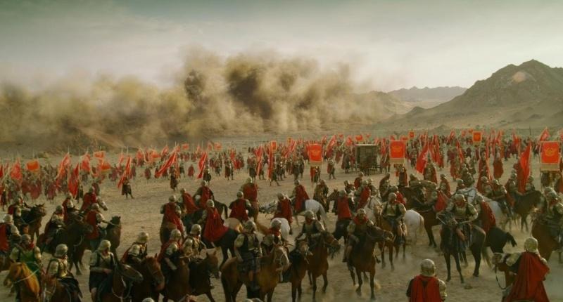 """Kadr z filmu """"Wojna imperiów"""" (źródło: youtube.com)"""