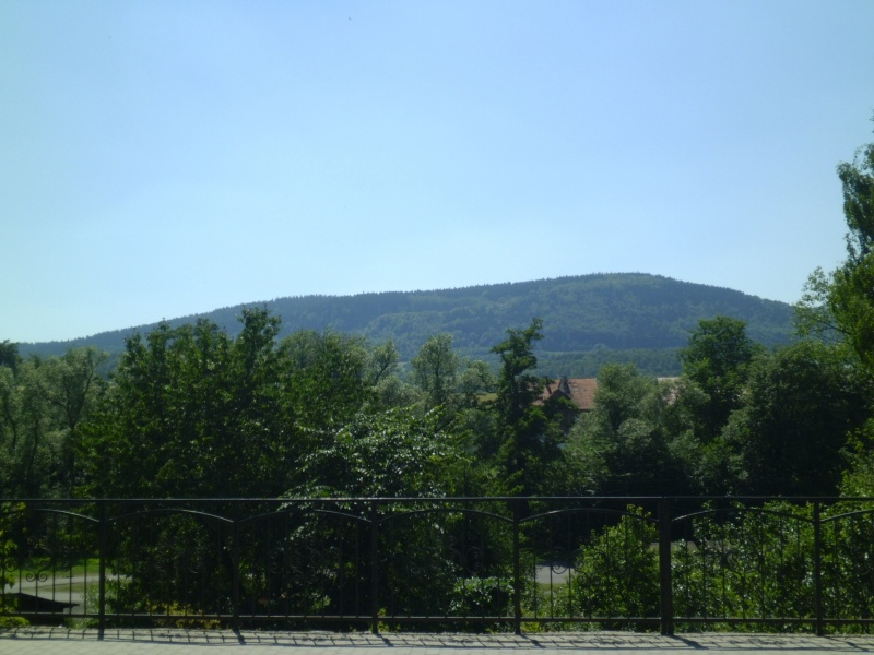 Głuszyca - widok z głównej ulicy (fot. Jaromir Zawrot)