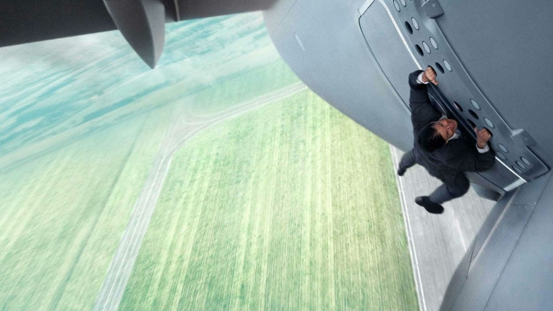 "Kadr z filmu ""Mission: Impossible – Rogue Nation"" (źródło: youtube.com)"