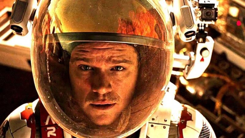 """Kadr z filmu """"Marsjanin"""" (źródło: youtube.com)"""