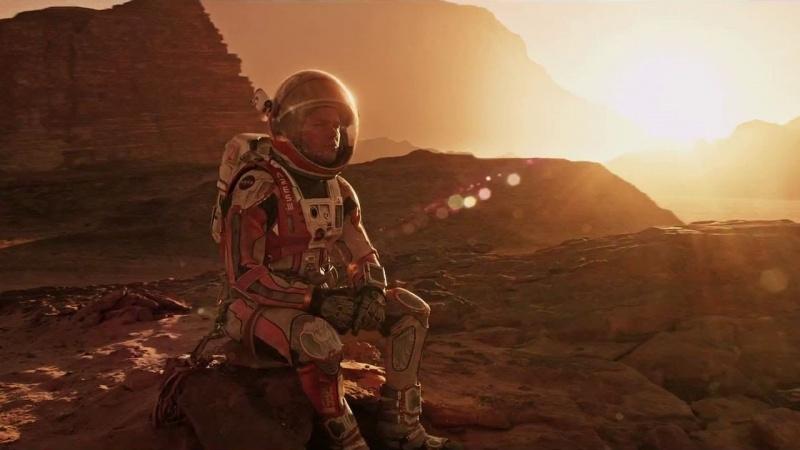"""""""Marsjanin"""" – Z pamiętnika pierwszego kolonizatora - recenzja;Marsjanin;science fiction;ekranizacja;Ridley Scott;Matt Damon;Mars;survival;optymizm;humor;przetrwanie;Mark Watney"""