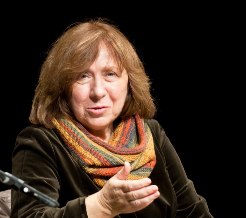 Swietłana Aleksiejewicz (źródło: wikimedia.org)