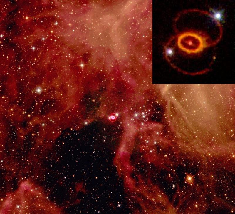 Neutrina w kosmosie (źródło: wikimedia.org)
