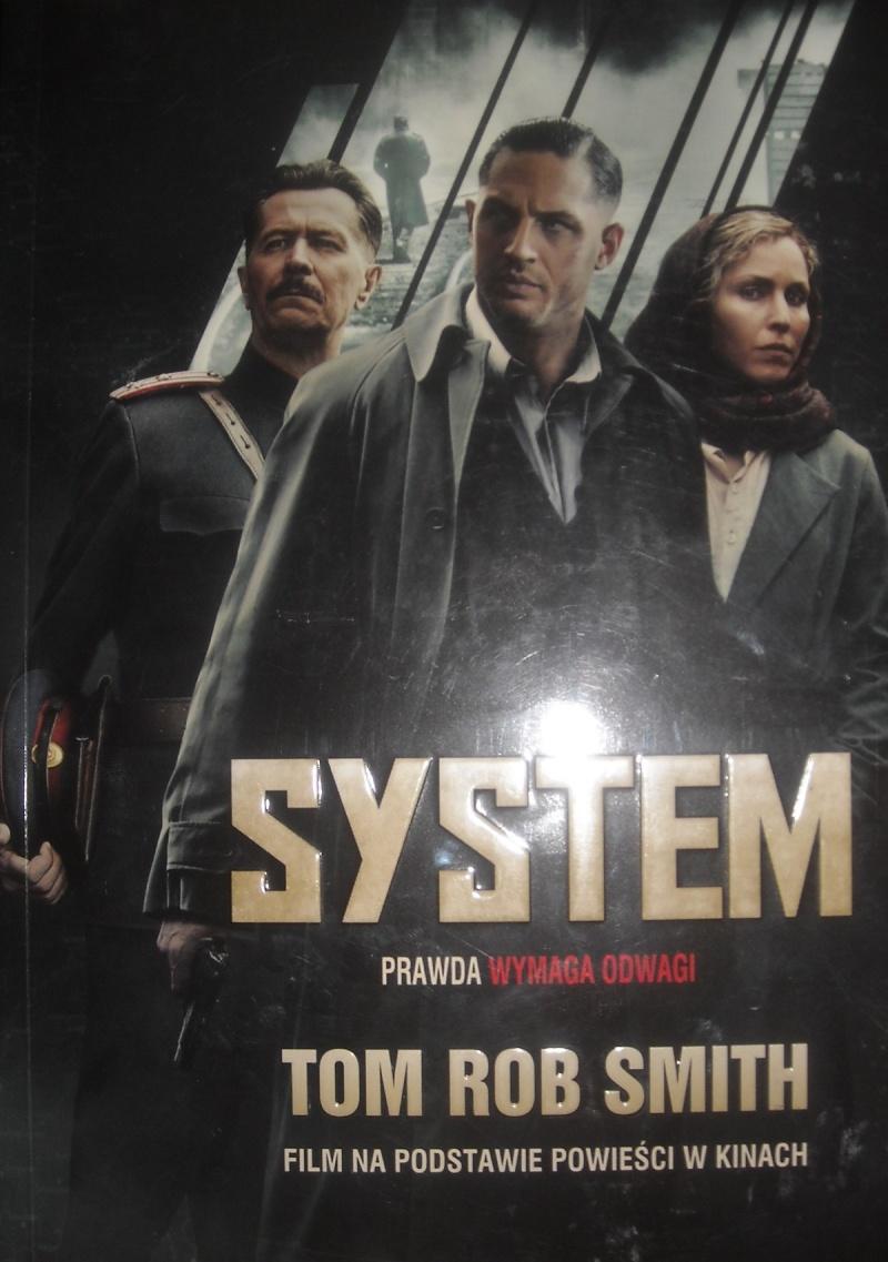 """Okładka powieści """"System"""" (źródło: zdjęcie autorskie)"""