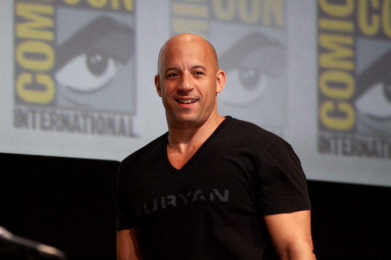 Vin Diesel https://www.flickr.com/photos/gageskidmore fot. Gage Skidmore