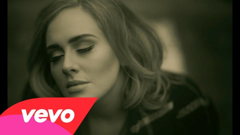 "Adele ""Hello"" (źródło: screenshot/youtube.com)"