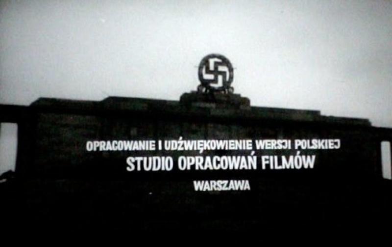 """Fragment filmu pt. """"Wyrok w Norymberdze"""", gdzie napisy w oryginale były po angielsku."""