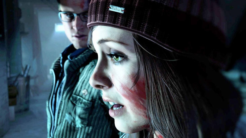 "Screen z gry ""Until Dawn"" (źródło: youtube.com)"