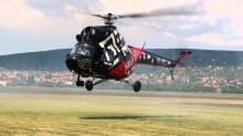 Moja pasja: Lotnictwo – pokaz akrobacyjny śmigłowcem MI-2 - Lajos Imreh;śmigłowiec;akrobacyjny;pokaz;pasja;lotnictwo;mi-2