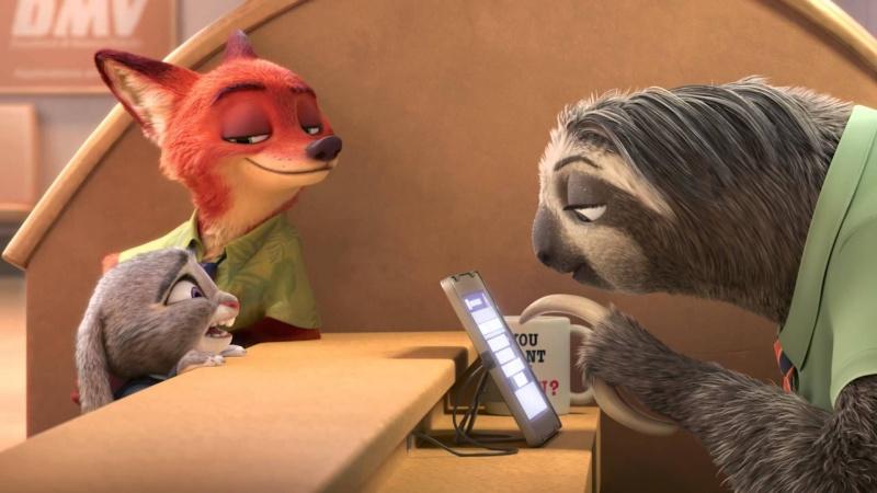 """Kadr z filmu """"Zwierzogród"""" (źródło: youtube.com)"""