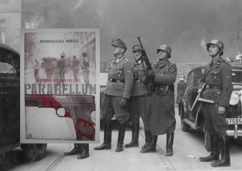 Okładka (źródło: zdjęcie autorskie); Żołnierze SS (źródło: wikipedia.org)