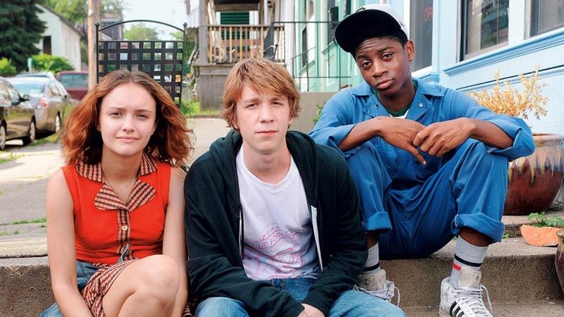 """Kadr z filmu """"Earl i ja, i umierająca dziewczyna"""" (źródło: cinespective.com) http://www.cinespective.com"""