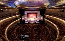 Międzynarodowy Dzień Teatru 2016  - Międzynarodowy Dzień Teatru;2016;teatr;scena;sztuka;spektakl;miasta;Polska;obchody;święto;akcja;Dotknij Teatru;kultura