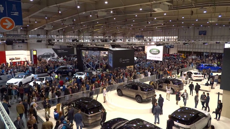 Targi Motor Show Poznań 2016 (źródło: youtube.com/screenshot)