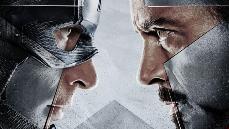 """Poster z filmu """"Kapitan Ameryka: Wojna bohaterów"""" (źródło: youtube.com/screenshot)"""