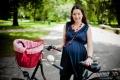 Ciąża a sport - ciąża;rower;jazda na rowerze;sport;zdrowie;dziecko